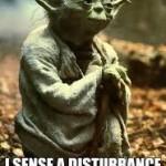 Disturbance in force