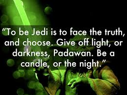 Yoda Give Off Light